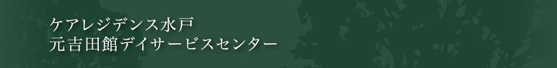 ケアレジデンス水戸 元吉田館デイサービスセンター
